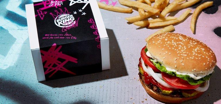 Burger King Valentine's Day