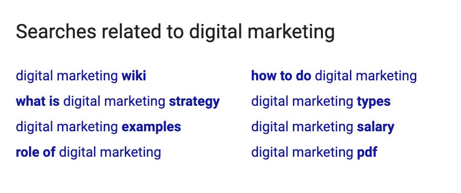 Search Engine Digital Marketing