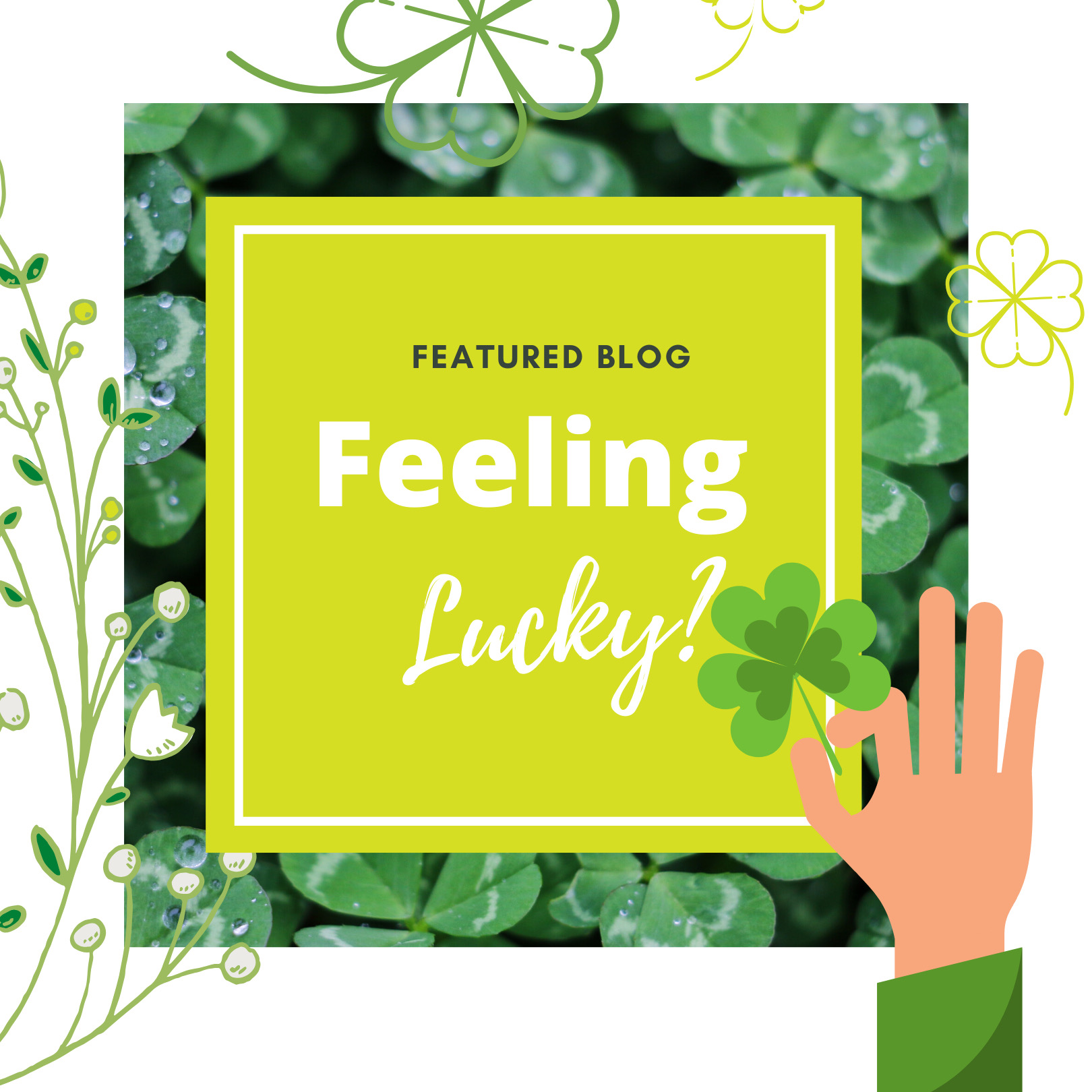 Feeling Lucky - thrivePOP Online Scavenger hunt